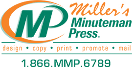 Miller's Minuteman Press logo