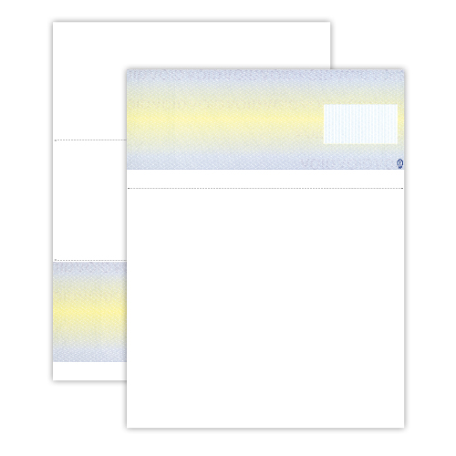fourdrinier watermark paper The paper is a high end security sheet with a true fourdrinier watermark as well as covert and overt fibers (the lower portion of the actual check has been blocked to protect our customer) notice that the upper portion of the check has no printing.