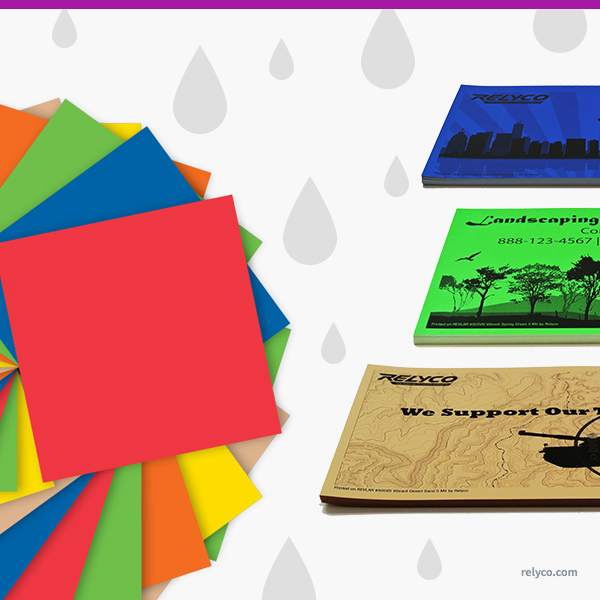 The Top 3 Advantages of Offering Vibrant Colored Waterproof Paper
