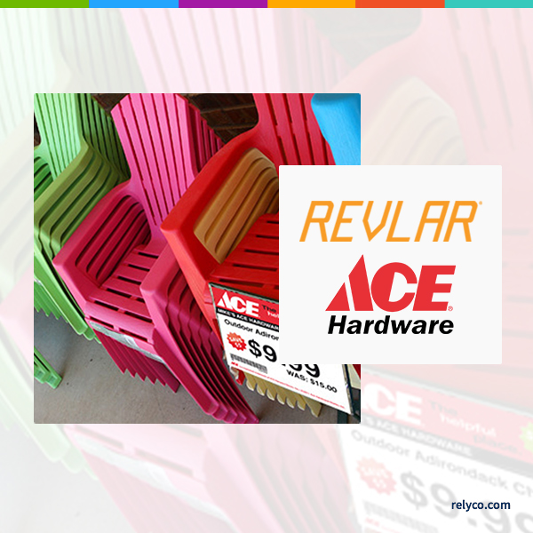 Ace Hardware Saves Time and Money Printing Waterproof Signs on REVLAR