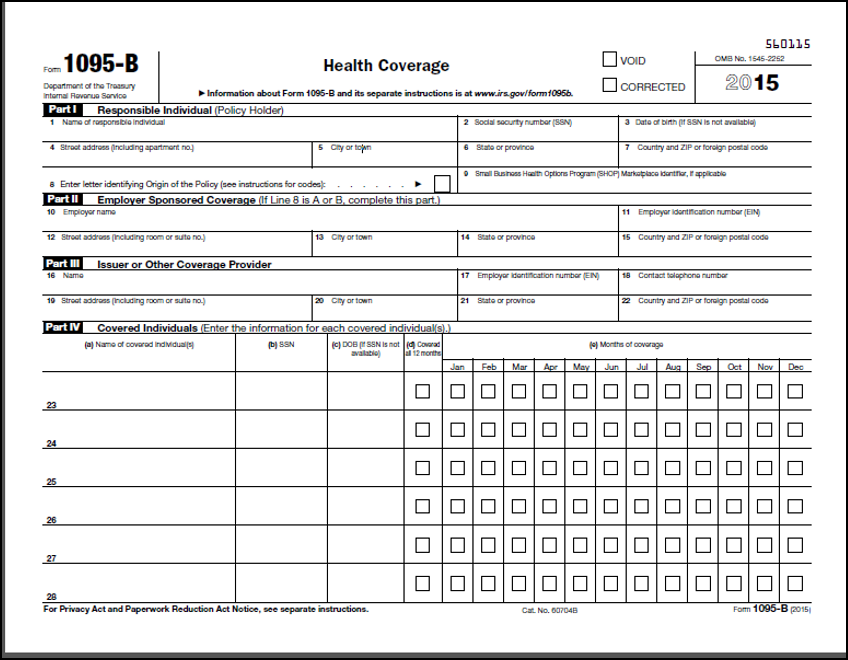 Aca tax forms affordable care act reporting amp forms