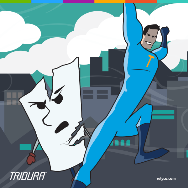 Just How Durable Is TriDura Man? Our Paper Hero Tests His Strength