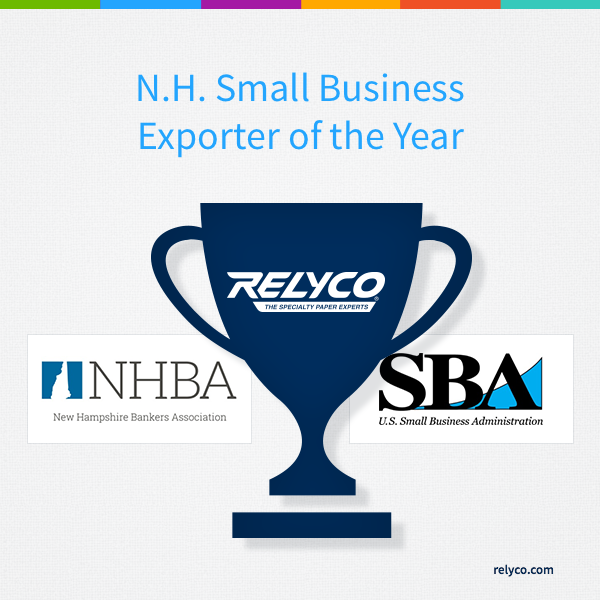 Relyco Named N.H. Small Business Exporter of the Year