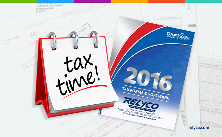 2016 Tax Forms 8 Tips For Business Ordering Success Relyco