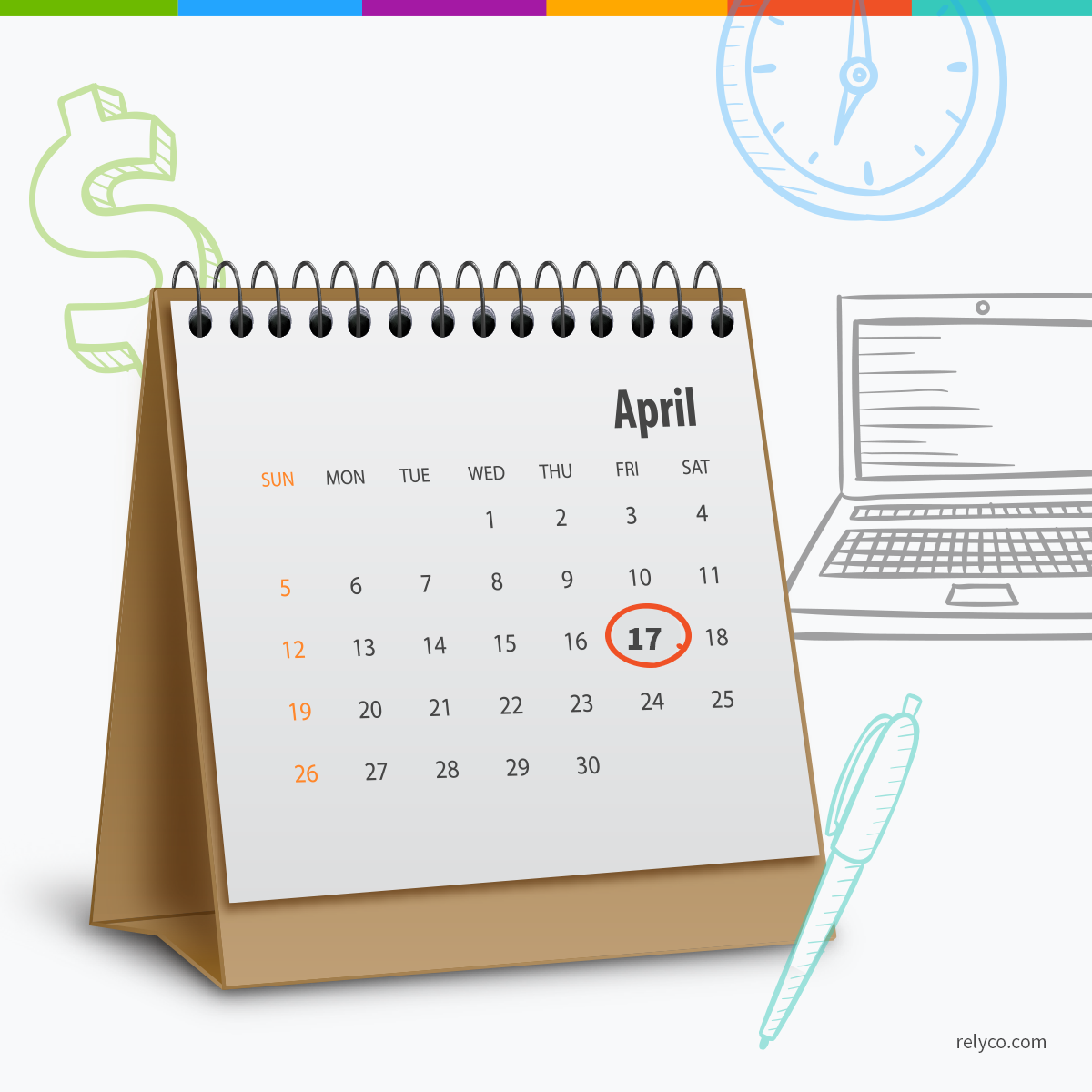 Tax Calendar 2016-2017: What Every Business Needs To Know « Relyco