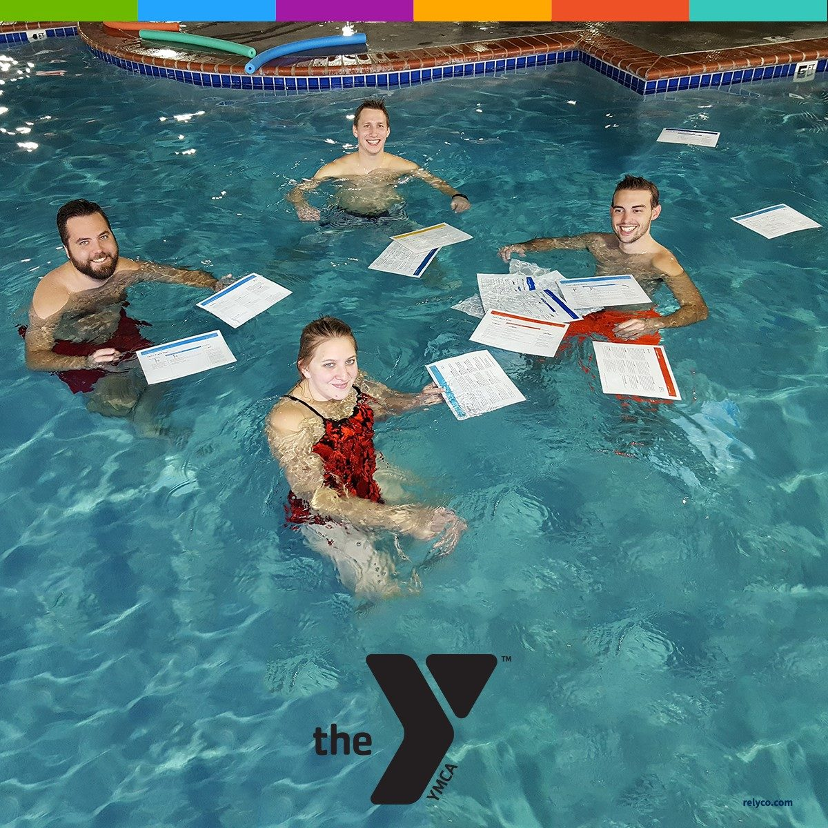 YMCA Makes a Splash with Waterproof Paper