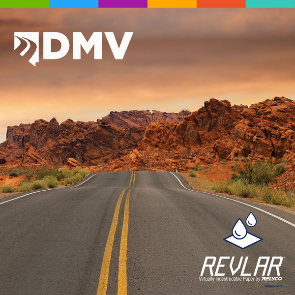 How Relyco Became the Provider for Nevada's Temporary DMV License Plate