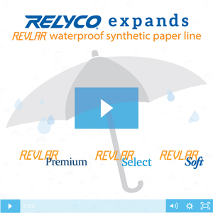 Relyco Expands REVLAR Synthetic Paper Line