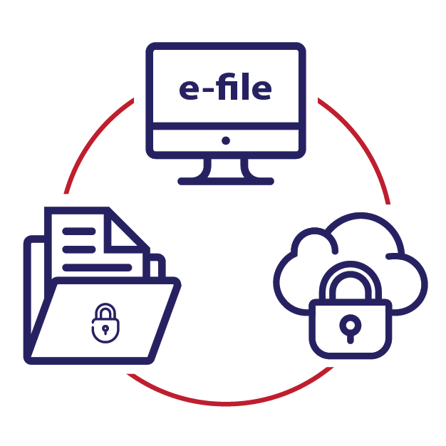 What Our E-File Service Provides: Benefits & Security Features