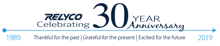 Relyco Celebrates 30 Years of Success and Service
