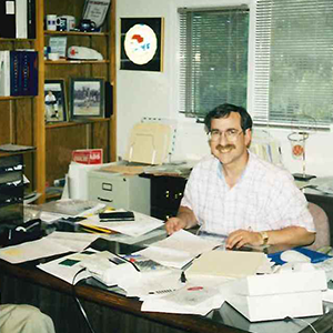 Mike in First Office