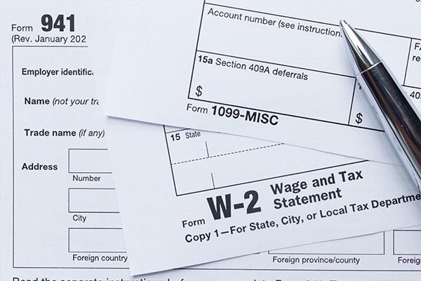 Custom Tax Forms